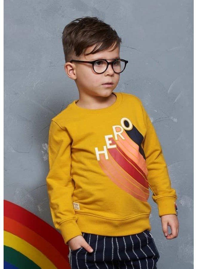 Dino-mite Sweater Hero Geel