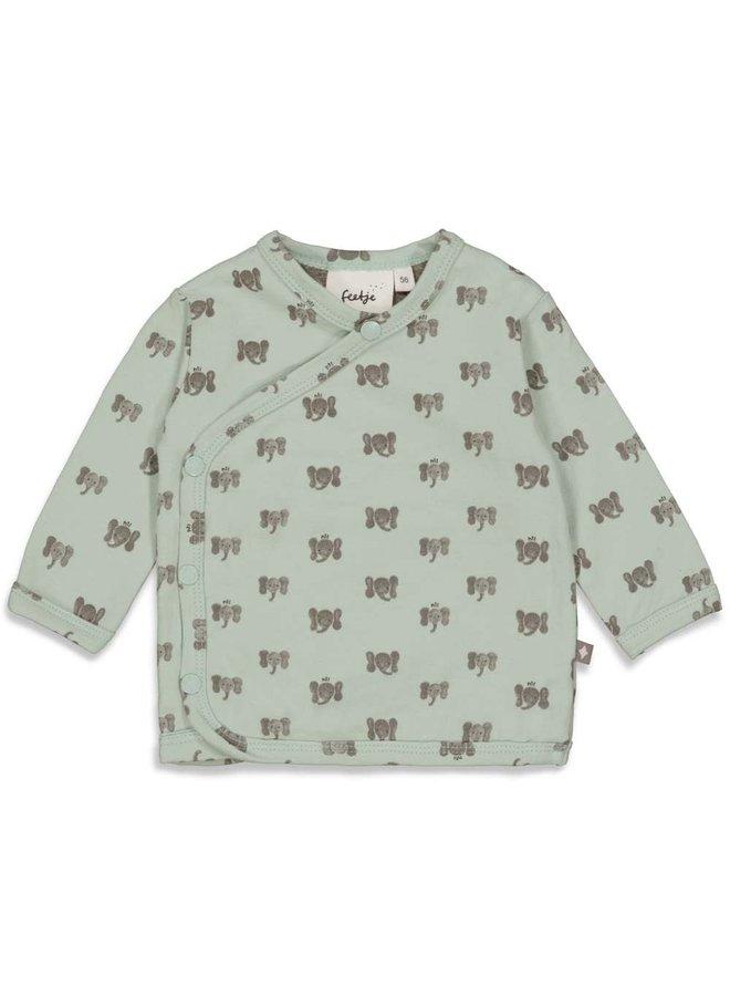 Hi Elephant Overslagshirt Mint