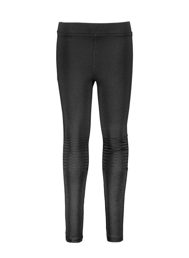 Legging Lederlook Black