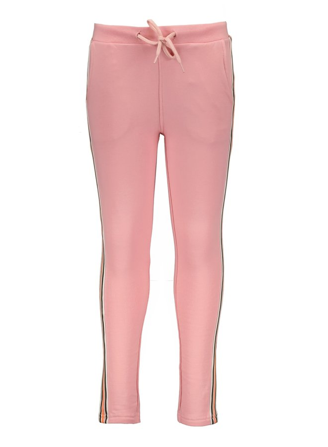 Joggingbroek Urban Girl  met Zijstreep Pink