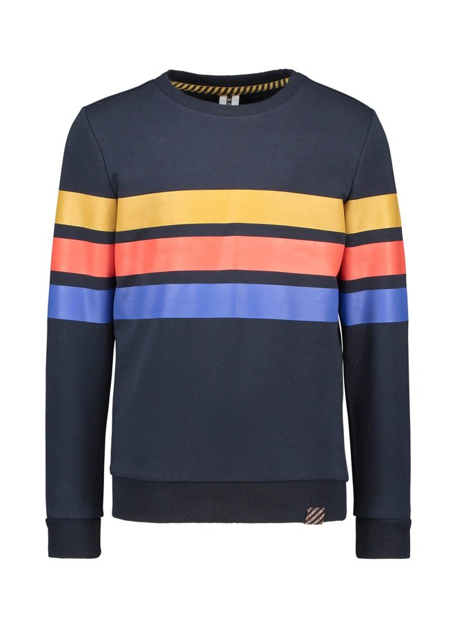 Sweater Stripes Ink Blue