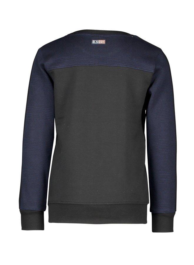 Sweater Black/Ink blue