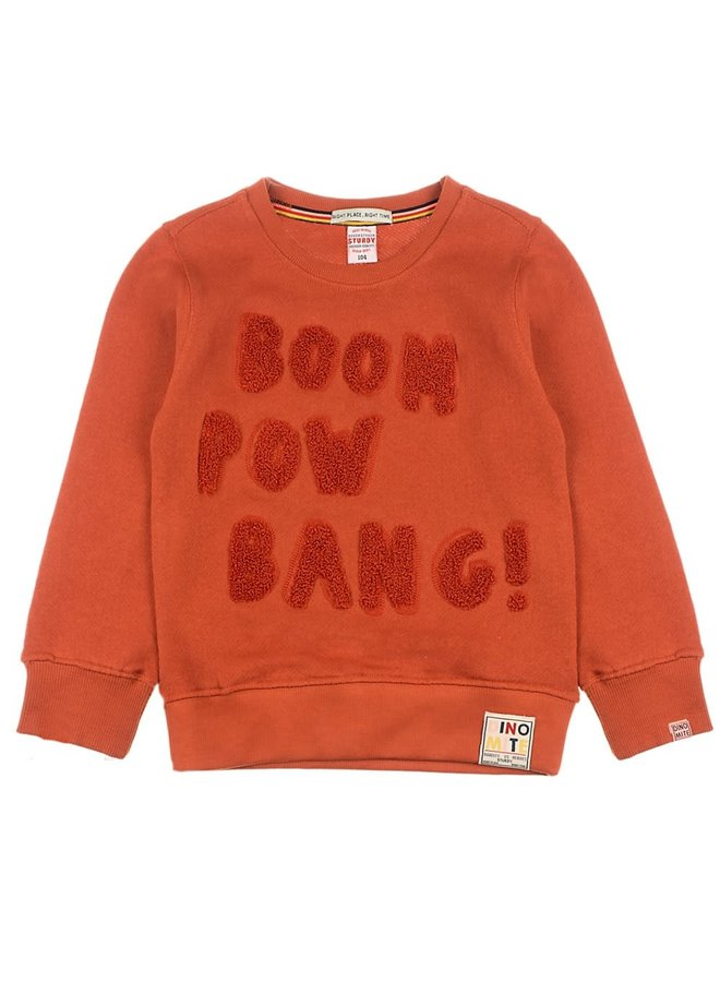 Dino-mite Sweater Boom Pow Bang Roest
