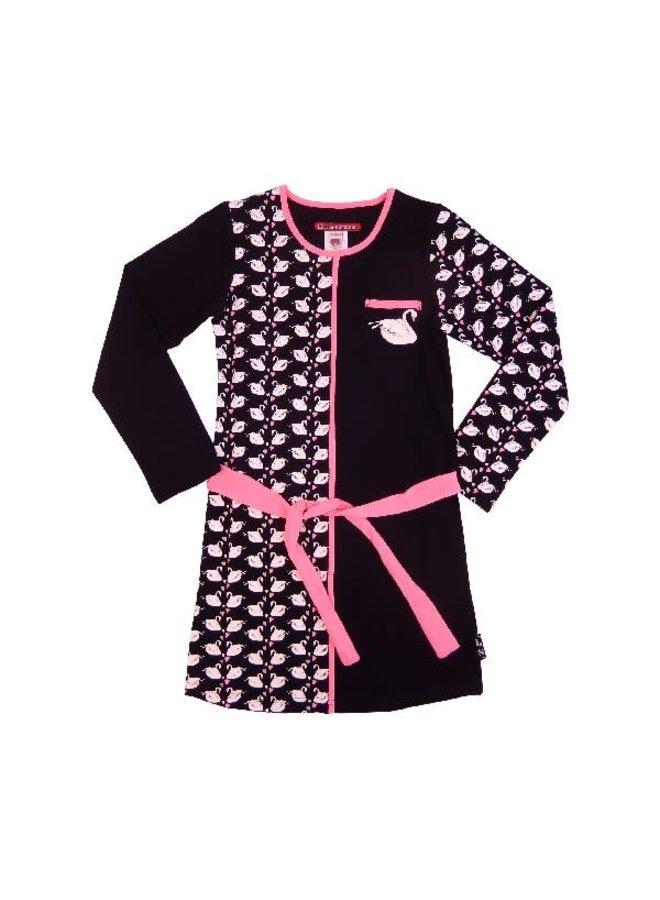 Jurk Aby Black/Pink