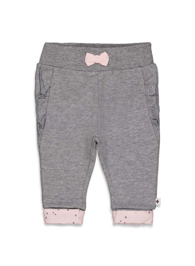 Cutest Thing Ever Broek Ruches Antraciet