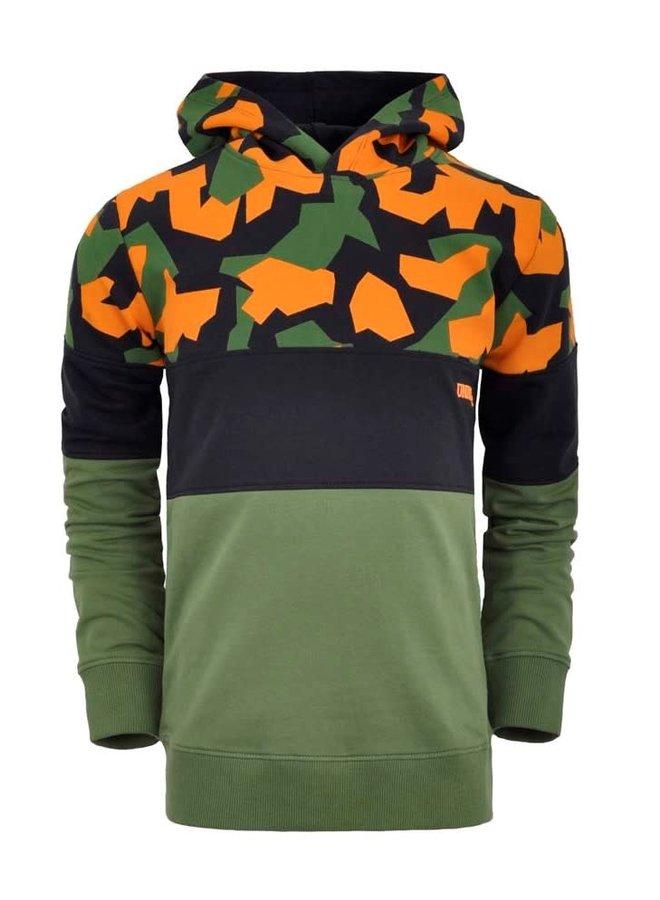Hoodie Green/Black
