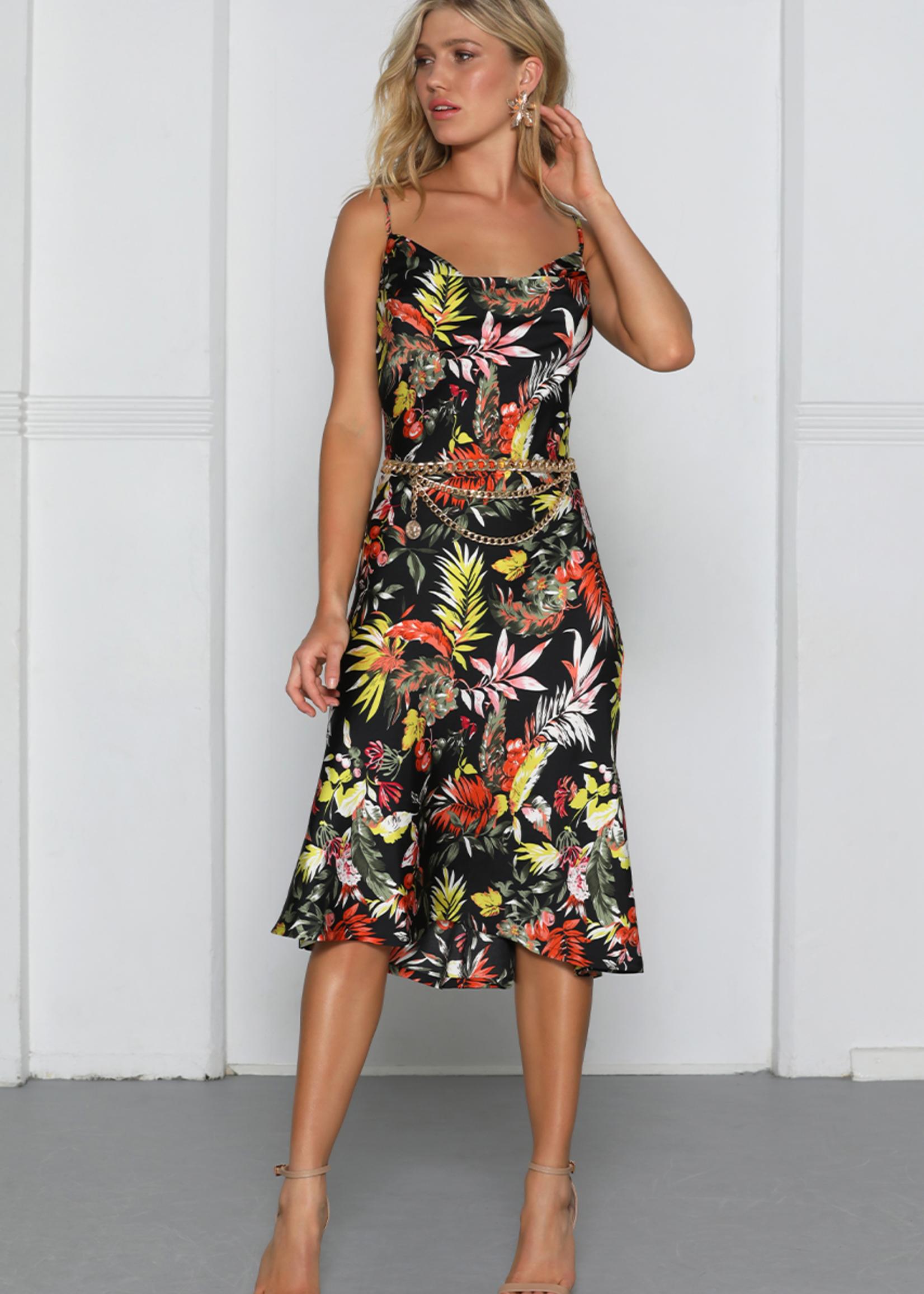 Patchouli Slip Dress