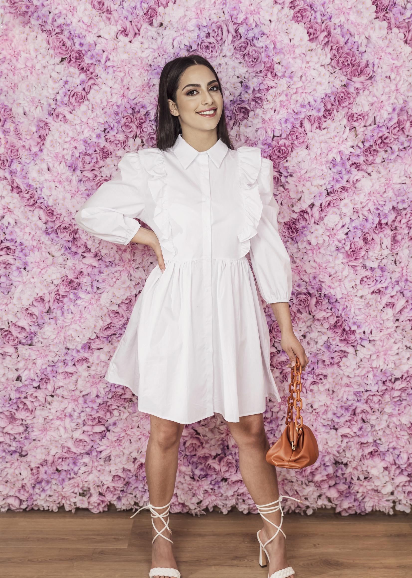 Luzabelle hemdkleedje white