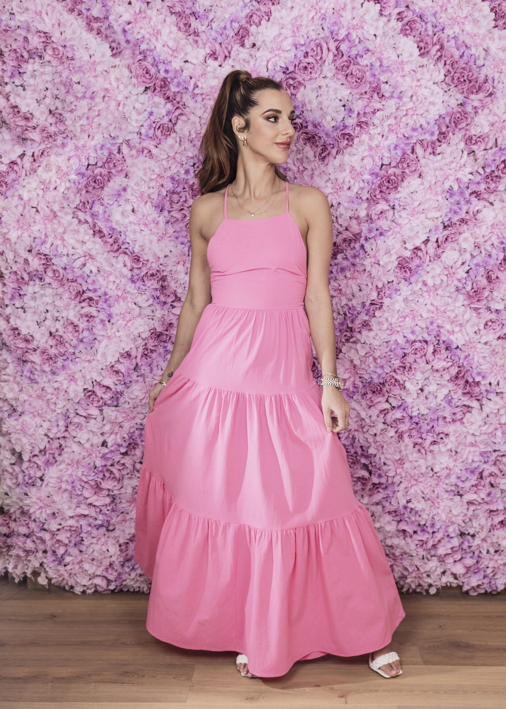 Remy maxi dress bubblegum