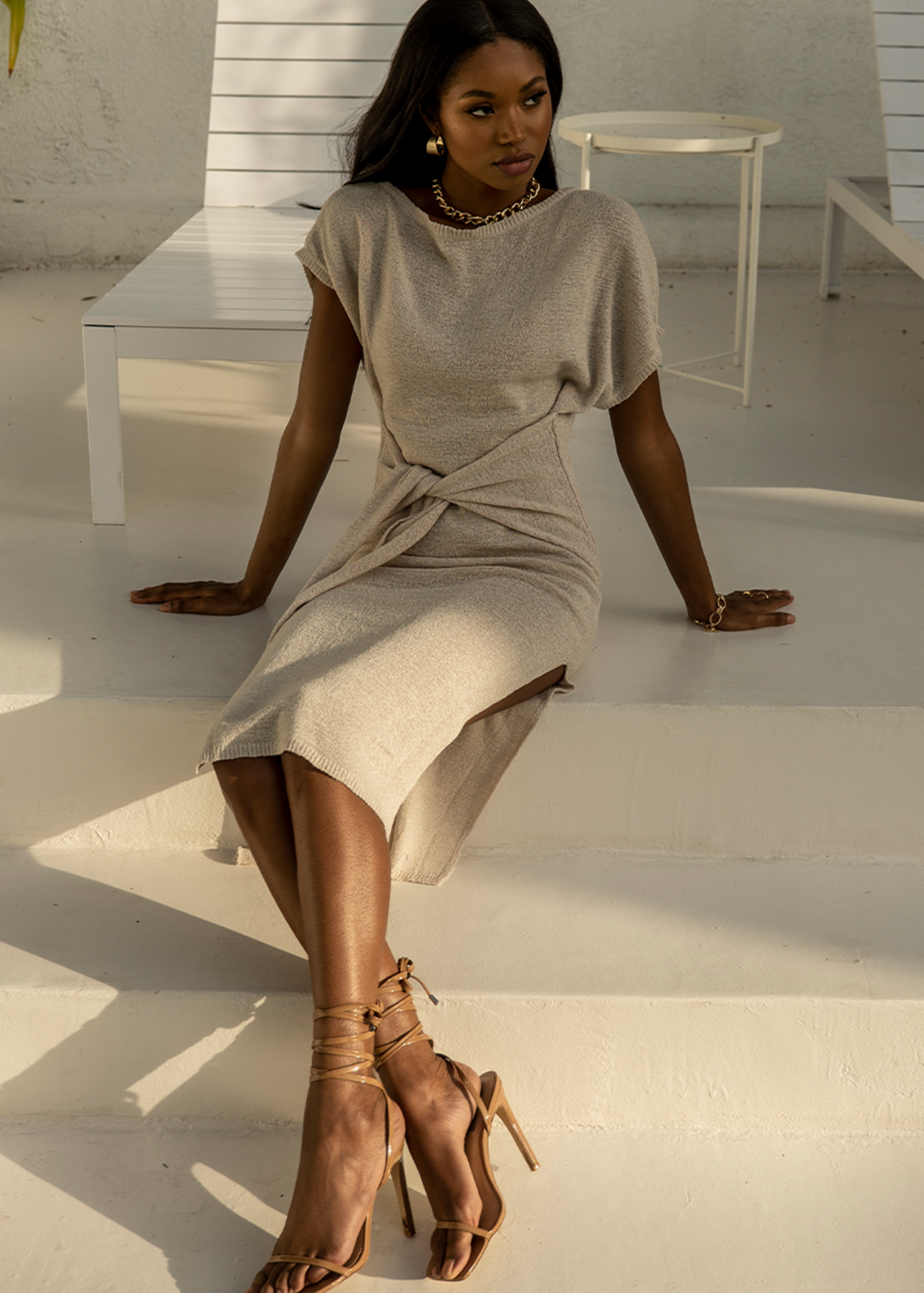 Moxie knit dress