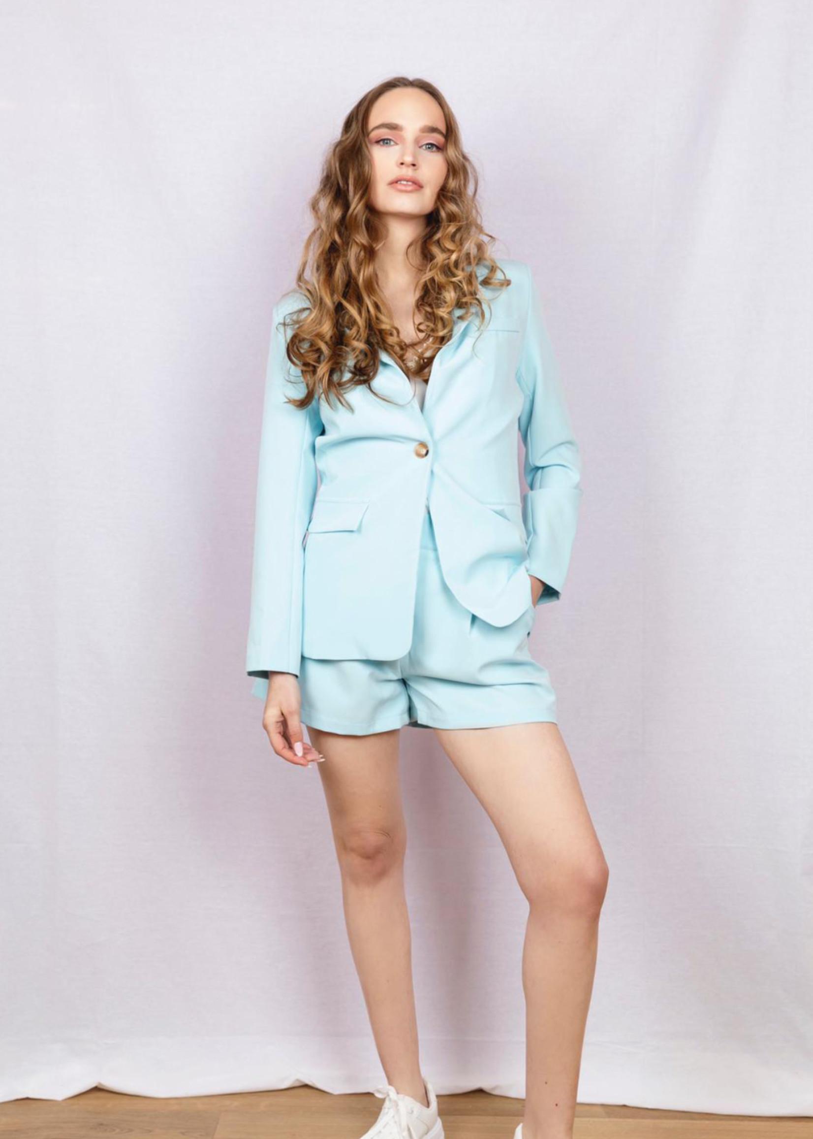 Kostuumjasje felblauw