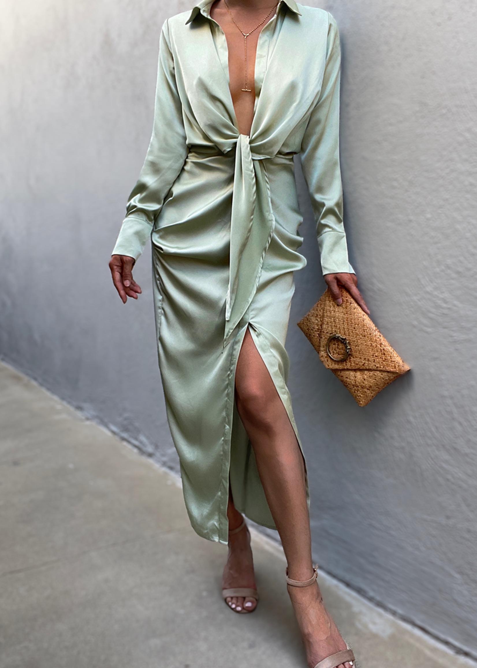 Skylar shirt dress