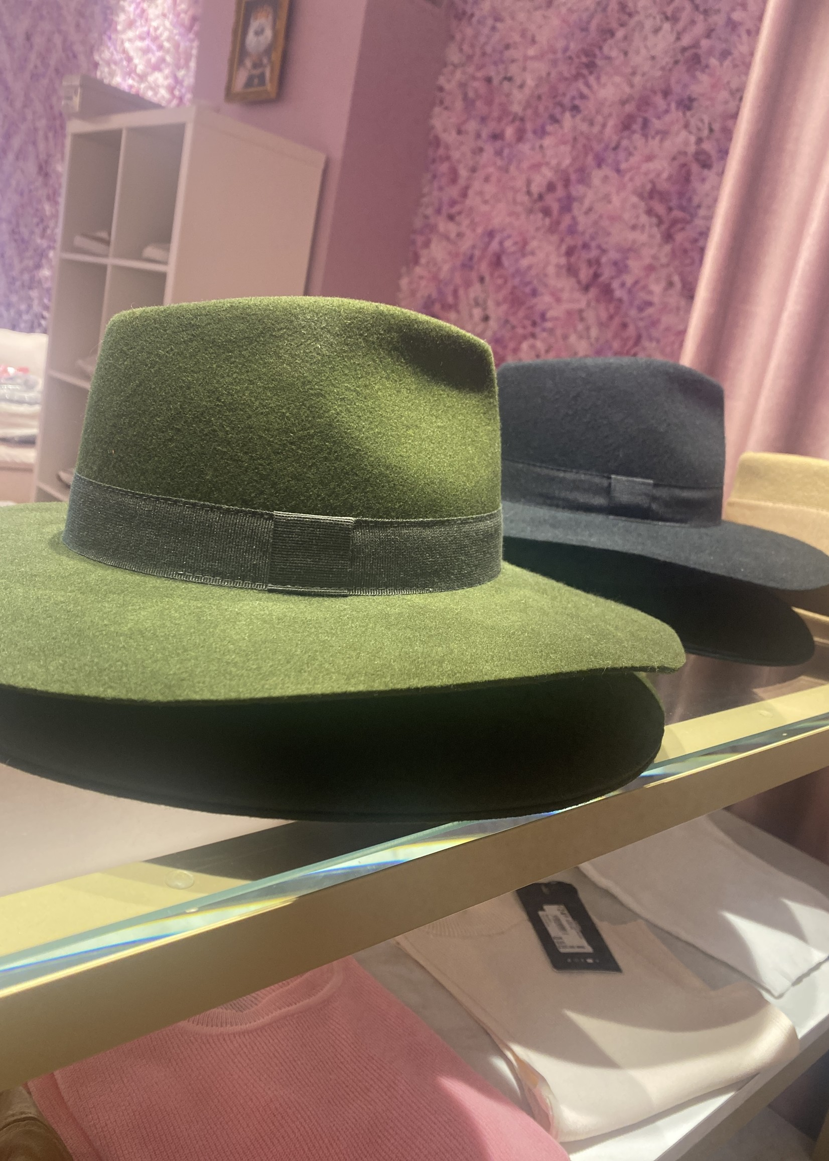 Grote hoed 1 kleur