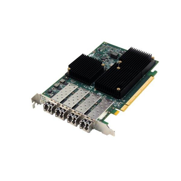 Atto Atto Celerity FC-324E - Quad-Channel 32Gb/s Gen 6 Fibre Channel to x16 PCIe 3.0 Host Bus Adapter ( includes SFPs )