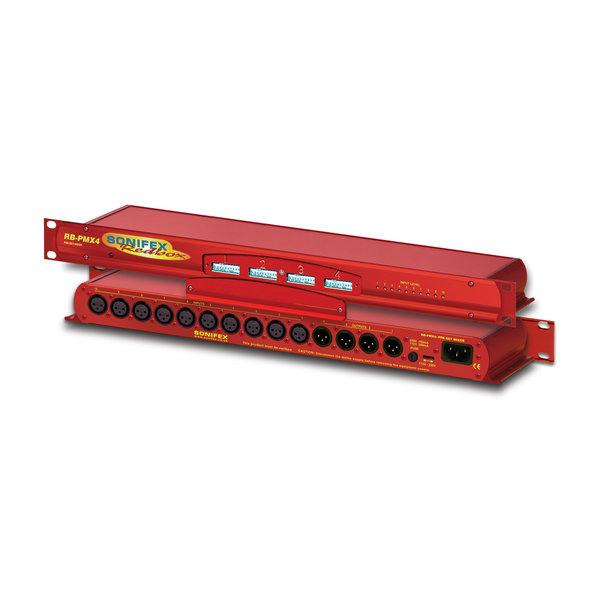 Sonifex Sonifex RB-PMX4 - 10 Input, 4 Output Analogue Preset Mixer