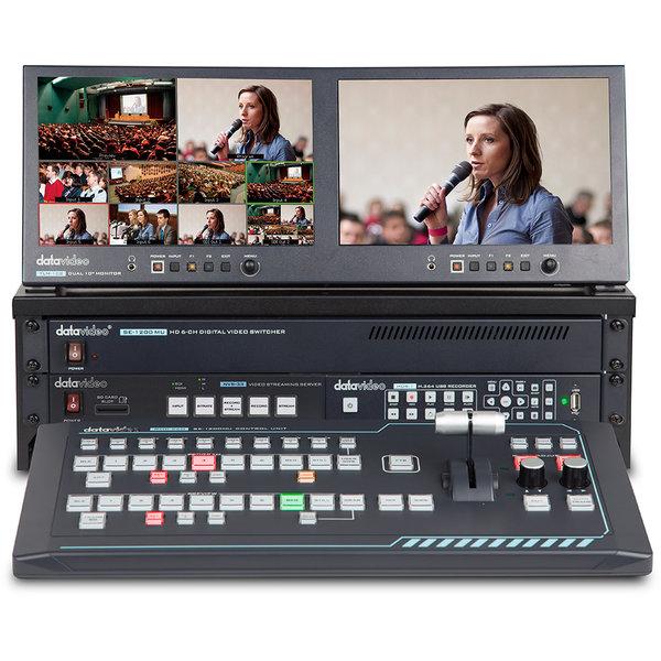 Datavideo Datavideo GO 1200 Studio 6 Channel HD Portable Video Production Studio