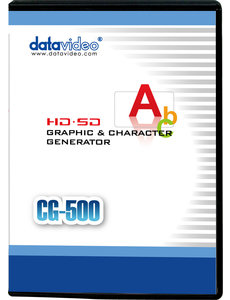 Datavideo Datavideo CG-500 HD/SD Graphics Character Generator