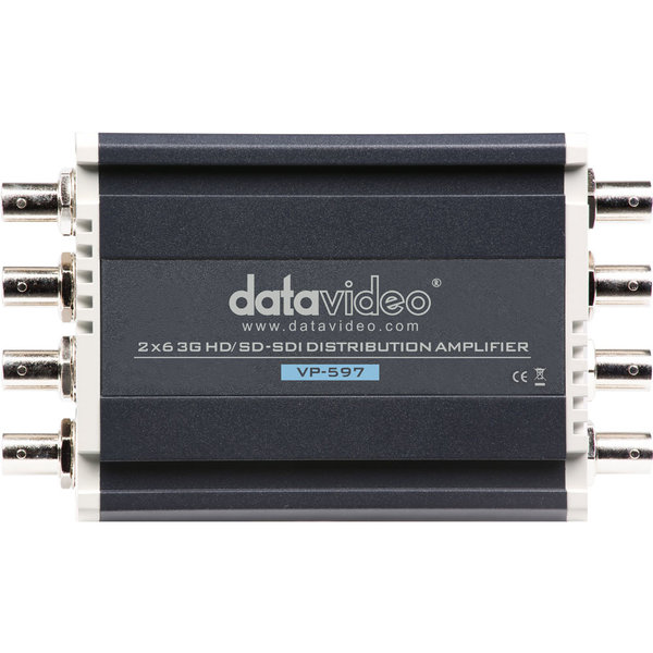 Datavideo Datavideo VP-597 2x6 3G HD/SD-SDI Distribution Amplifier