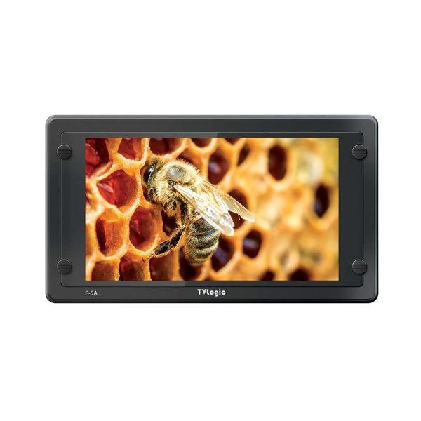 """TVlogic TVlogic F-5A 5.5"""" Full-featured Field Monitor with FHD IPS-LCD"""
