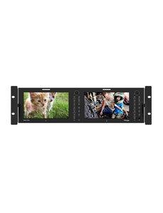 "TVlogic TVlogic RKM-270A Dual 7"" LCD Rack Monitor"