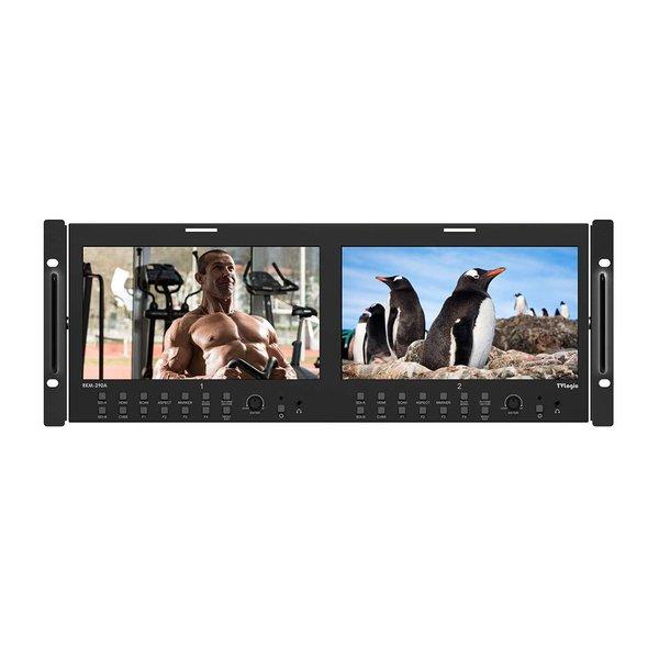 "TVlogic TVlogic RKM-290A Dual 9"" LCD Rack Monitor"