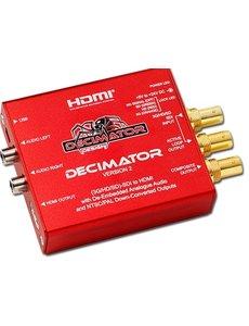 Decimator Decimator Miniature 3G/HD SDI to HDMI and PAL