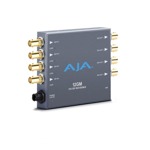 AJA AJA 12GM 12G-SDI to/from SDI Muxer/DeMuxer