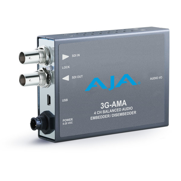 AJA AJA 3G-AMA 3G-SDI Analog Audio Embed/Disembed