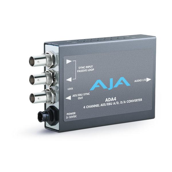 AJA AJA ADA4 4 channel audio A/D and D/A convertor