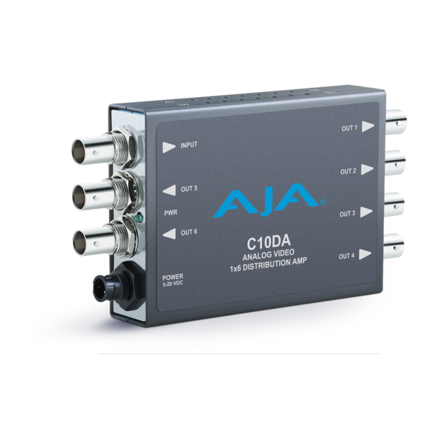 AJA AJA C10DA Analog video 1x6 distribtuion amplifier