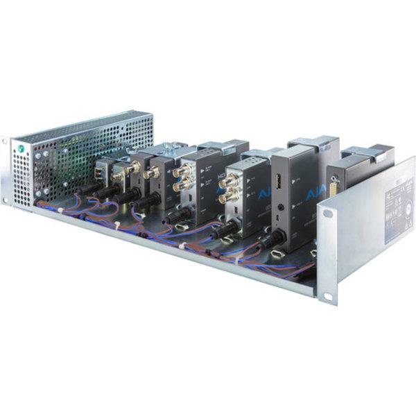 "AJA AJA DRM 2RU 19"" rackmount frame for mini-convertors"