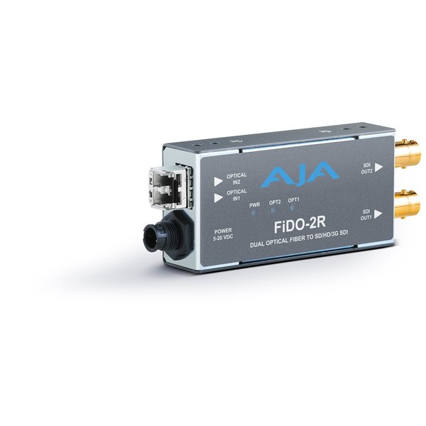 AJA AJA FIDO-2R-MM Dual ch. fiber MM to SD/HD/3G SDI dual out