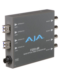 AJA AJA FIDO-4R 4-Channel LC fiber to 3G-SDI