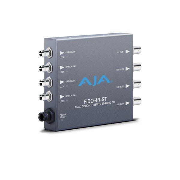 AJA AJA FIDO-4R-ST 4-Channel ST fiber to 3G-SDI