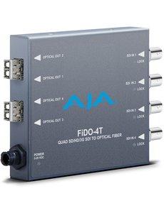 AJA AJA FIDO-4T 4-Channel 3G-SDI to LC fiber