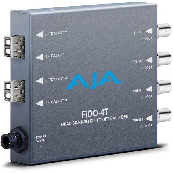 AJA AJA FIDO-4T-MM 4-Channel 3G-SDI to LC fiber MM
