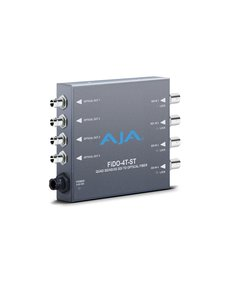 AJA AJA FIDO-4T-ST 4-Channel 3G-SDI to ST fiber