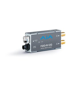 AJA AJA FIDO-R-12G Single ch. fiber to SD/HD/12G SDI dual out