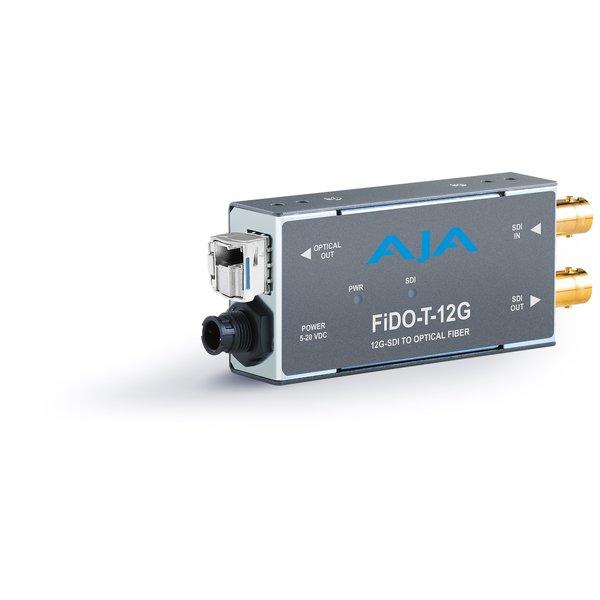 AJA AJA FIDO-T-12G Single ch. SD/HD/12G SDI to fiber + loop SDI out