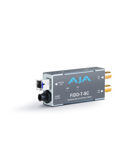 AJA AJA FIDO-T-SC Single ch. SD/HD/3G SDI to fiber SC + loop SDI out