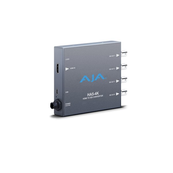 AJA AJA HA5-4K / HDMI to 4K 4 x 3G-SDI (4K,UHD,2K,HD and SD)