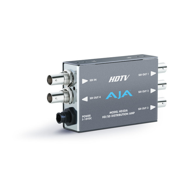 AJA AJA HD5DA HD/SD-SDI distribution amplifier, 1x4, EQ