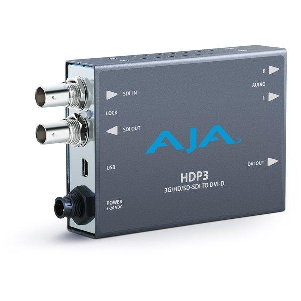 AJA AJA HDP3 / 3G-SDI to DVI-D and Audio Converter