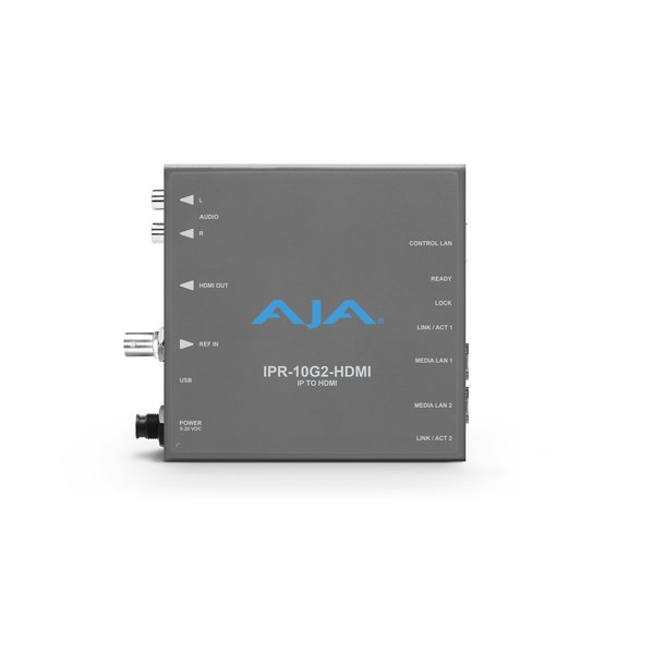AJA AJA IPR-10G2-HDMI Bridging HD SMPTE ST 2110 Video and Audio to HDMI