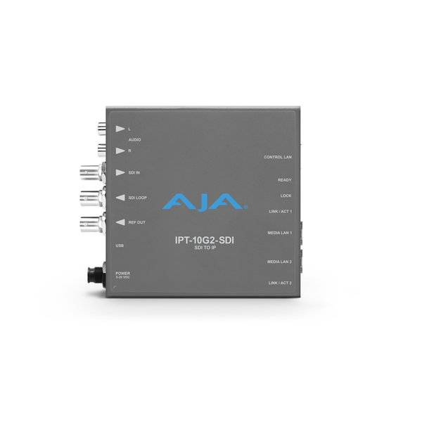 AJA AJA IPT-10G2-SDI Bridging 3G-SDI to SMPTE ST 2110 Video and Audio