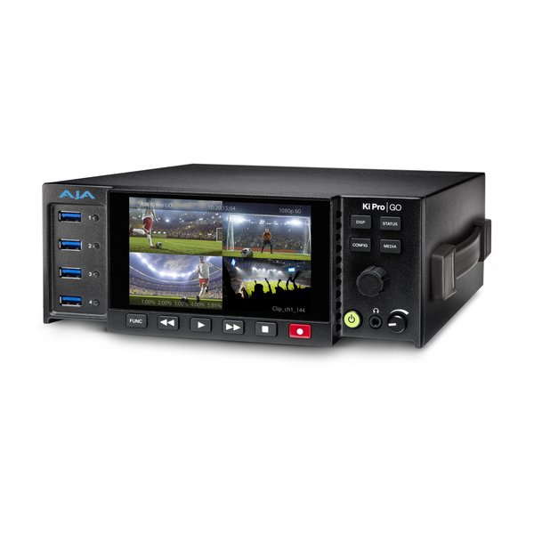 AJA AJA Kipro GO / Multi-Channel H.264 USB3.0 recorder and player