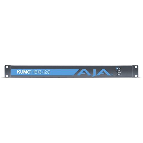 AJA AJA KUMO-1616-12G Compact 16x16 12G-SDI Router, 1 PSU incl.