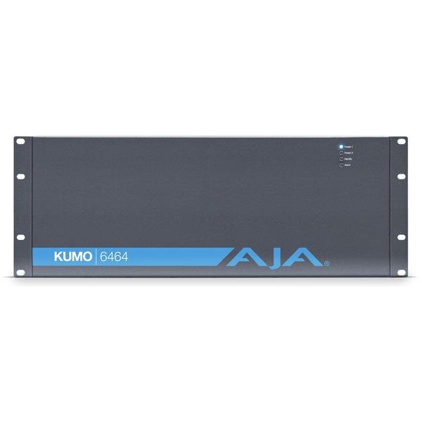 AJA AJA KUMO-6464 Compact 64x64 3G-SDI Router, 1 PSU incl.