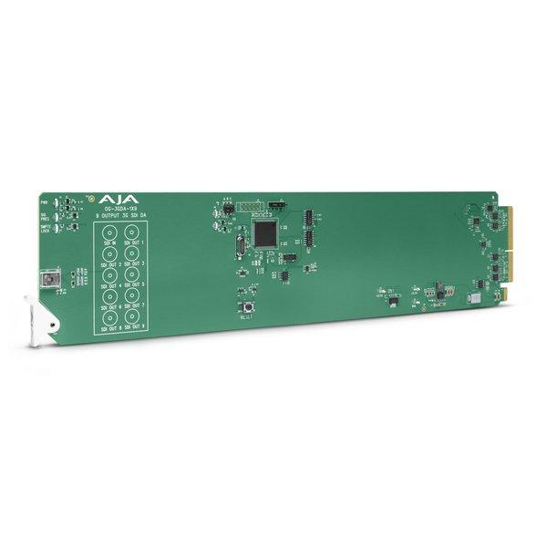 AJA AJA OG-3GDA-1X9 3G-SDI reclocking DA, dashboard support