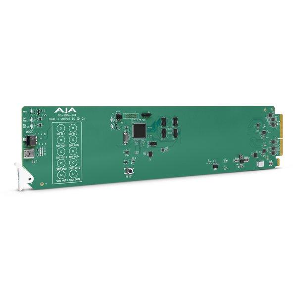 AJA AJA OG-3GDA-2X4 or 1X8 3G-SDI reclocking DA, dashboard support